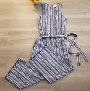 NWOT Cloth & Stone Tank Belted Jumpsuit